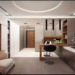 Классическое оформление квартиры-студии 20 кв.м2