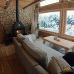 Вариант простого двухэтажного дома 35м2